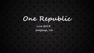 One Republic - Guitar Solo (live) @ Wolf Trap VA