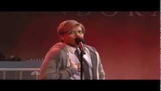 Bruno Mars impersonates Justin Bieber - Saturday Night Live