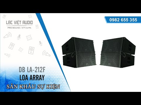 Loa array DB LA 212F