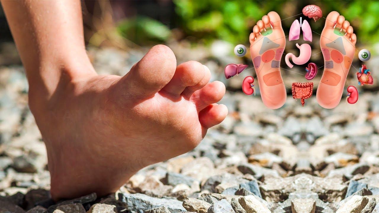 Health Benefits of Walking Barefoot on Stones