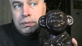Большая шоколадная обезьяна