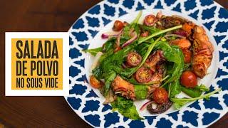 A MELHOR salada da VIDA!!! Salada de Polvo no Sous Vide | Só Vide #230