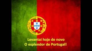 Hino Nacional de Portugal - A Portuguesa (Piano com coro)