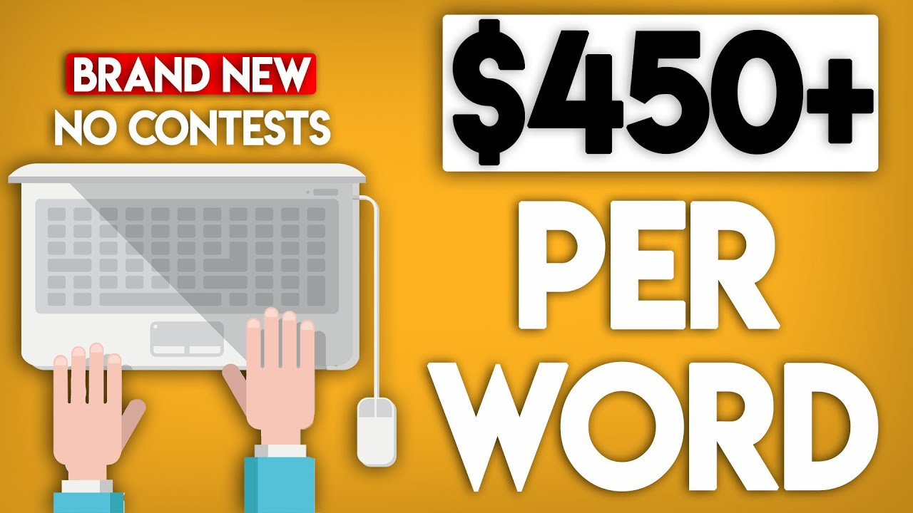 Earn 0+ Per Word! (NOT WHAT YOU THINK) | Work From Home