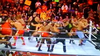 the Corre Vs Nexus  Royal Rumble