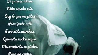 Alejandro Fernandez ( Niña Amada Mia ) Lyrics