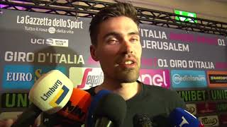 Tom Dumoulin - Interview before the race - Giro d'Italia / Tour of Italy 2018