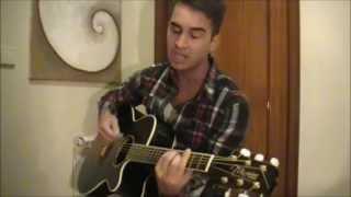 Anselmo Ralph - Nao me toca (acoustic cover by Joao Bateira)