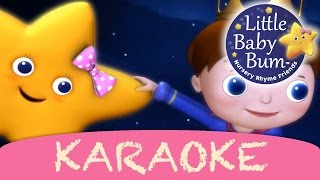 Twinkle Twinkle Little Star | Karaoke Version With Lyrics HD from LittleBabyBum!