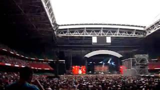 Kasabian LSF live p1, Millenium Stadium, Cardiff June 09