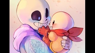 sans and papyrus 7 year [AMV]