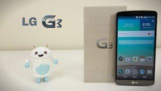 فتح صندوق جهاز ألجي جي 3 | LG G3 Unboxing