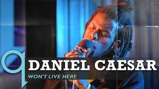Daniel Caesar Plays A Rare Stripped Down Version of Won't Live Here (LIVE)