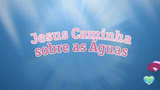 Jesus andando sobre as águas