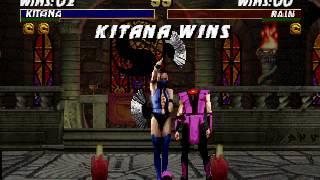 Kitana Decapitation Fatality (MKT N64)