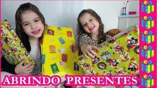 ABRINDO PRESENTE SURPRESA - Hoje é dia de Marias YouTuber Kids BR