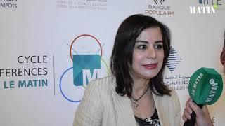 Matinales de la fiscalité : Déclaration de l'expert-comptable Leila El Andaloussi