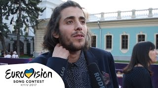 Interview with Salvador Sobral from Portugal (Eurovision 2017)
