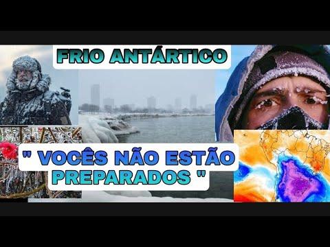 EUA e Canadá Alertam Brasil - Frio Antártico está Vindo - Brasil não está Preparado
