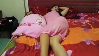 Janda Cantik Saat Tidur   Nggak Tahan Cuy