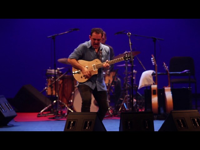 Raúl Rodríguez - La Raíz Eléctrica Live (Afro-flamenco-eléctrico)
