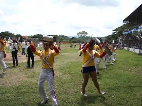110915 The band of students in Nicaragua 2