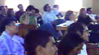 Iglesia Eben-ezer 21-03-2010.  Visita de grupo de Texas.