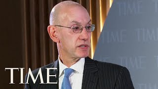 Adam Silver Addresses Fallout From The NBA-China Controversy | TIME 100 | TIME