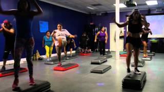 """Zumba Step Fitness """"Bon Bon"""""""