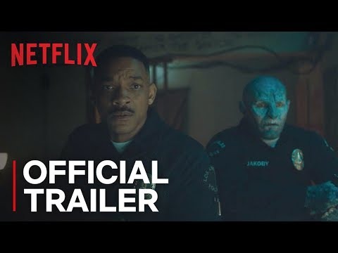 Bright   Official Trailer 2 [HD]    Written by MAX LANDIS  Directed by DAVID AYER   Netflix