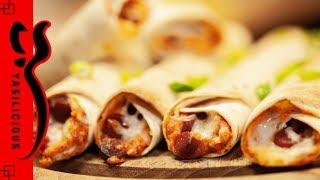 Hangover-Rezept: Taquitos mit Hummus und Peperonisalami Blitzrezept