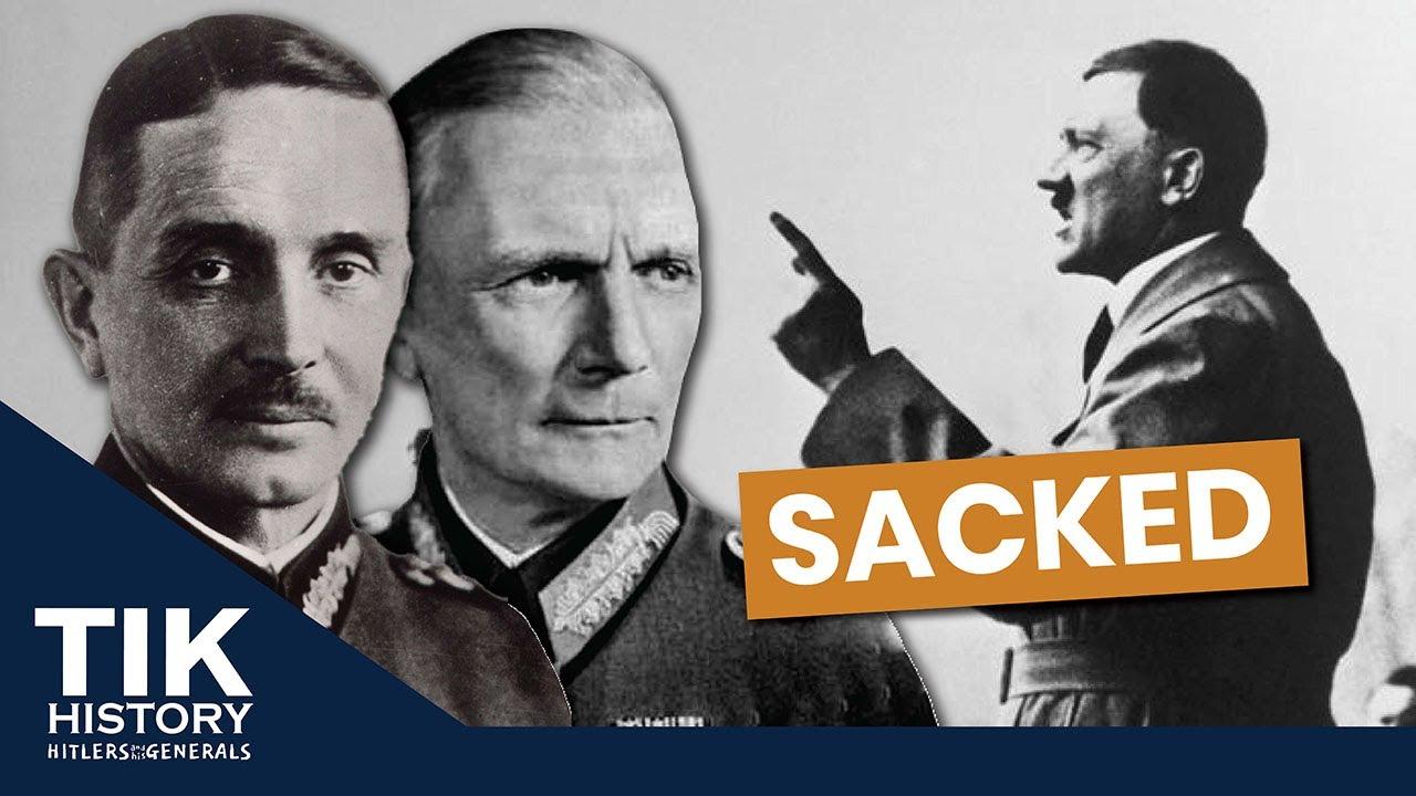 Hitler & his Generals - Von Wietersheim and Von Bock