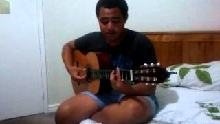 Ma lil brother cover of Homely girl- by UB40