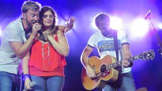 "Lady Antebellum ""Landslide (Fleetwood Mac Cover)"" Live @ Susquehanna Bank Center"