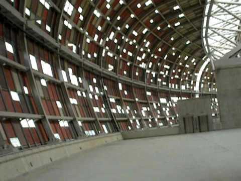 Soccer City stadium interior tour