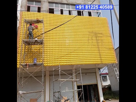 3D Wall Panel Design Decor India +91 81225 40589