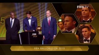 THE BEST FIFA MEN'S PLAYER 2016 - Cristiano Ronaldo WINNER width=