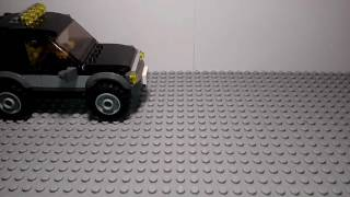 LEGO 60058 внедорожник с катером