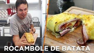 Rocambole de batata - Cozinha com batata - OCSQN! #147