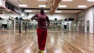 Salsa samba Zumba dance to David guetta being goofy