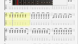 Blink 182   Give Me One Good Reason GUITAR TABLATURE