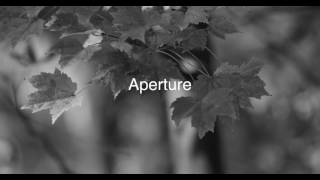 Black & White - Aperture