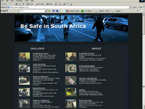CRIME ON TOURISTS: Safety Information