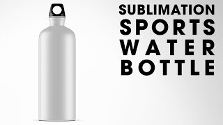 Customize a 20 oz. Sublimation Sports Water Bottle Using The HPN Signature Series Mug Press