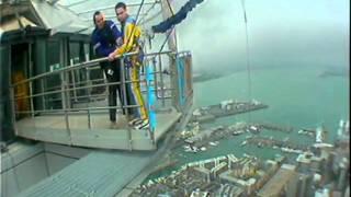 Steve's Sky Tower Jump