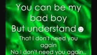 Cascade-Bad Boy lyrics