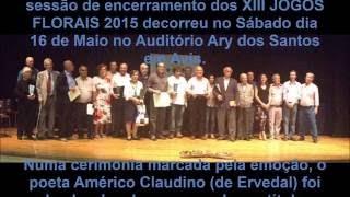 XIII JOGOS FLORAIS  2015   Pastor Alentejano