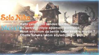 Nika E.D ( Emre Demir ) - Mesafe ( Lyrics Video )  NO mix