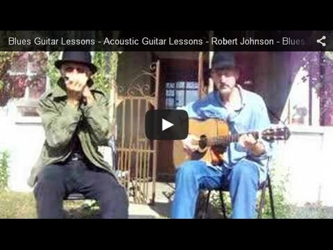 Blues Music - Robert Johnson - Me and the Devil - Jim Bruce Acoustic Blues Guitar Lessons