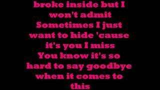 Hurt - Christina Aguilera Lyrics
